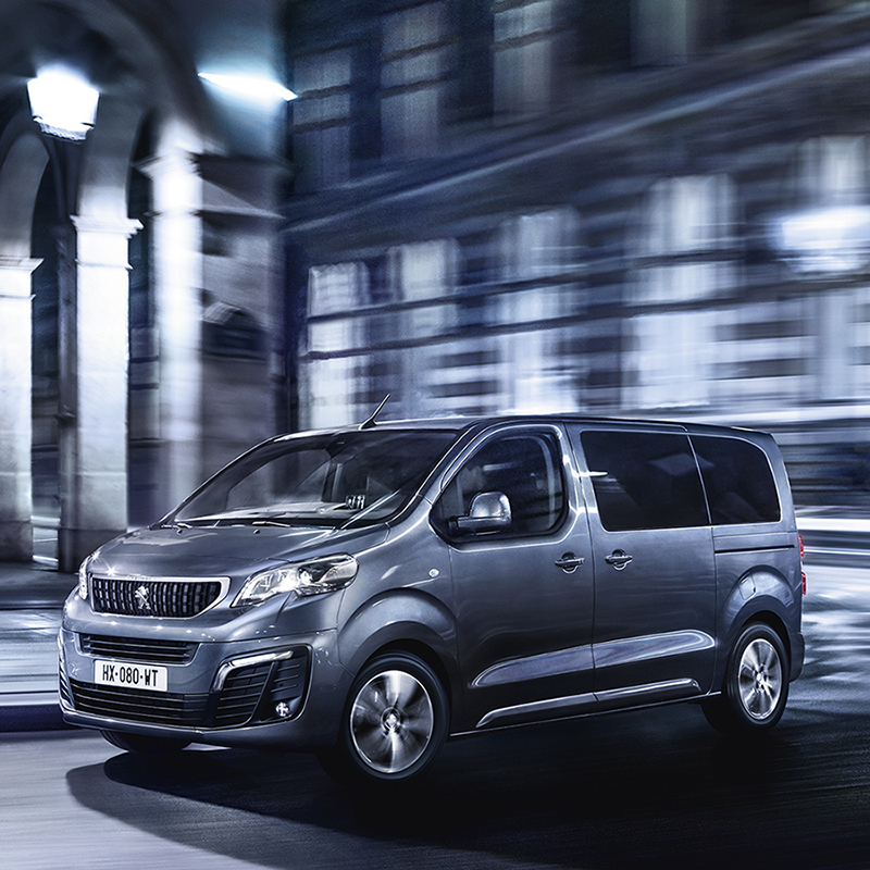 Peugeot Traveller Business VIP . Print